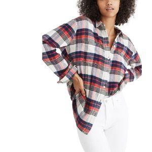 Madewell Ex-Boyfriend Oversize Shirt